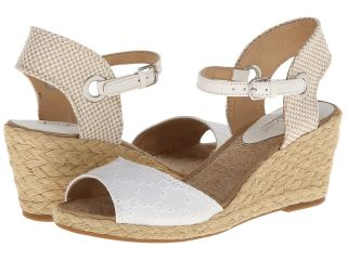 Lucky Brand Kyndra Womens Wedge Shoes (White)