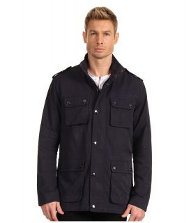 Michael Kors Collection Utility Jacket Mens Jacket (Navy)