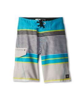 Rip Curl Kids Livin Stripe Boardshort Boys Swimwear (Blue)