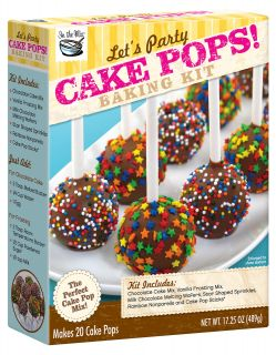 Lets Party Cake Pops Baking Kit