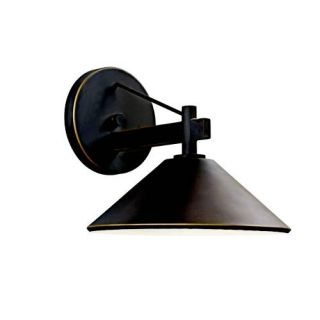 Kichler 49060OZ Outdoor Light, Lodge/Country/Rustic/Garden Wall 1 Light Fixture Olde Bronze